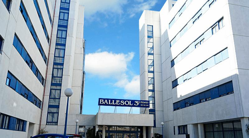 Residencia Ballesol Pasillo Verde