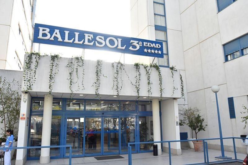 Apartamentos Ballesol Pasillo Verde
