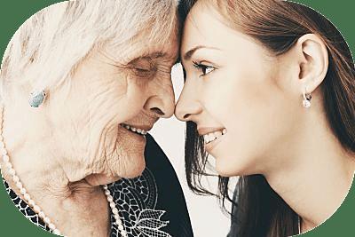 familiares de personas mayores