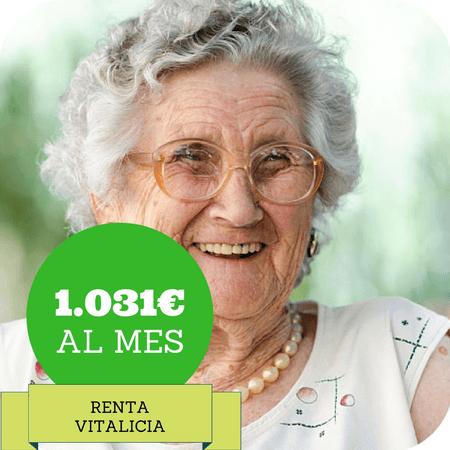 Renta Vitalicia para mayores